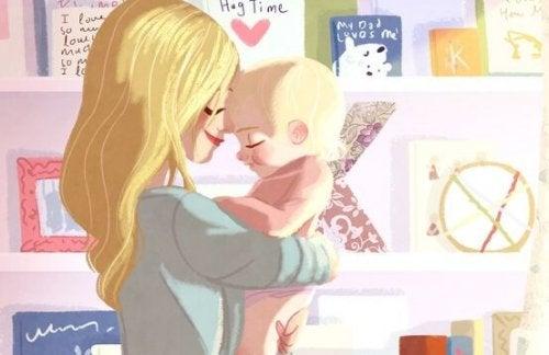 왜 아기들은 항상 안아달라고 할까?