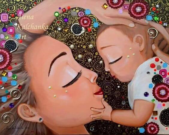 아이는 엄마의 영원한 아기로 남는다
