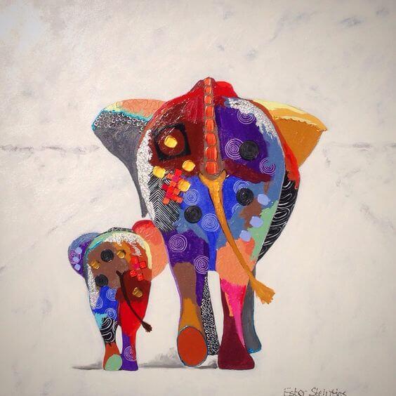 스스로 소중히 여기는 방법 코끼리