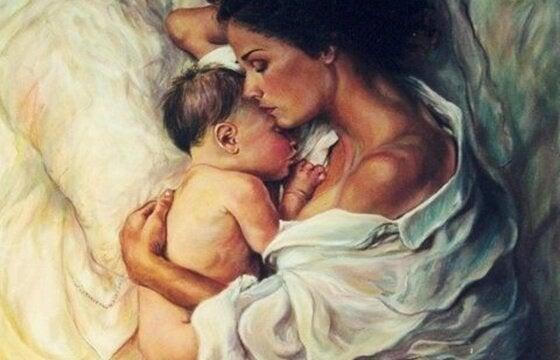 아이는 엄마의 현재, 미래 그리고 최고의 과거이다
