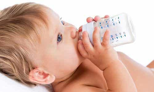 생후 6개월 전에 물을 마시면 안 되는 이유