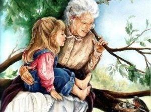 조부모 곁에서 자란 아이들은 더 행복하고 차분하다