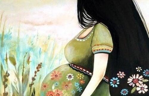 태아를 자극하는 방법과 이점
