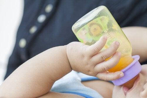 아기 식단에 중요한 철분