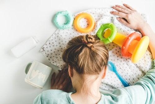 탈진증후군, 몸과 마음이 방전된 엄마들