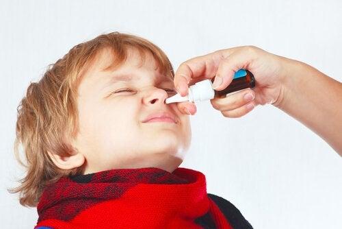 아이의 코막힘을 해결하는 방법