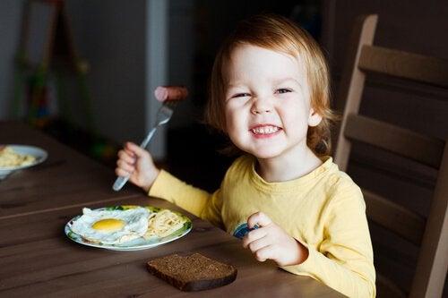 아이의 뇌에 좋은 음식 6가지