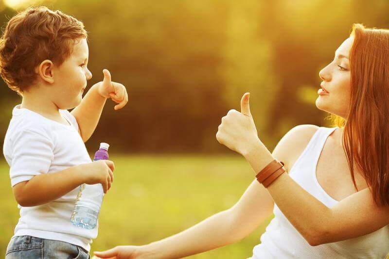 긍정적 지지를 8가지 문장으로 표현하기