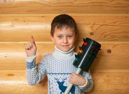 아이의 분노 조절을 돕는 신호등 기법