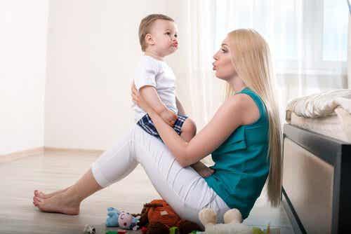 아이의 언어 습득 발달