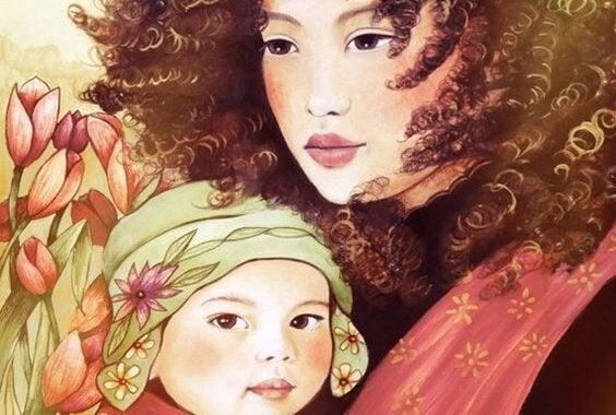 옹알이를 시작한 아기: 부모만 이해하는 언어