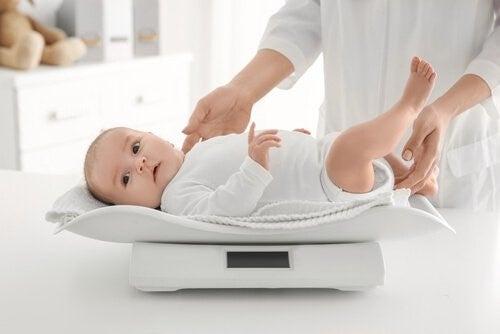 아기의 몸무게를 관리하는 팁 6가지