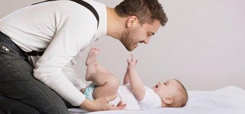 아이 양육에서 아빠의 역할