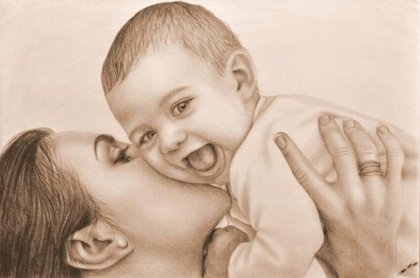 아이를 사랑하게 되면 가슴속 새로운 공간을 발견하게 된다