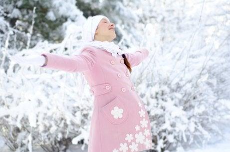 겨울에 출산하면 무엇이 좋고 무엇이 나쁠까?