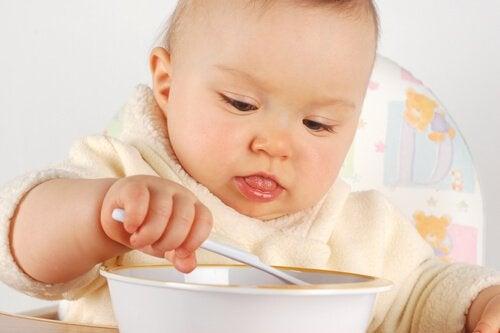 첫해에 아기에게 먹이는 것에 관한 팁