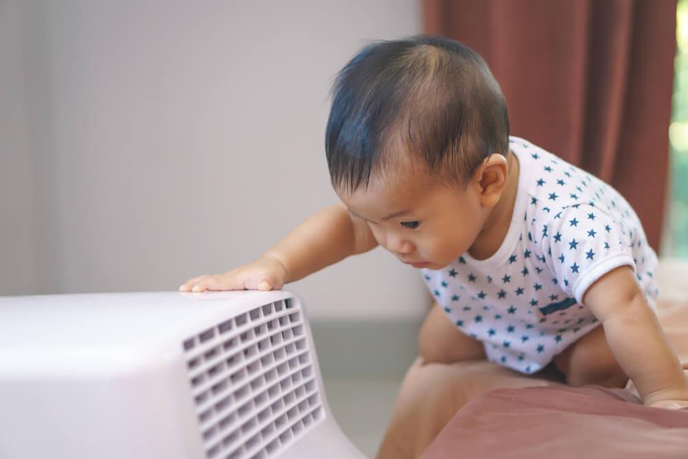 아기가 있는 집에서 에어컨 사용하기
