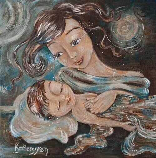 엄마는 외롭다고 느껴질 때 아이를 떠올린다