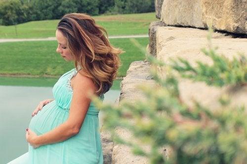 임신부가 우는 다양한 이유들