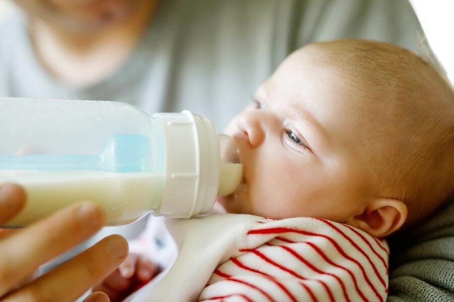 아기 개월수에 따른 적정 우유량