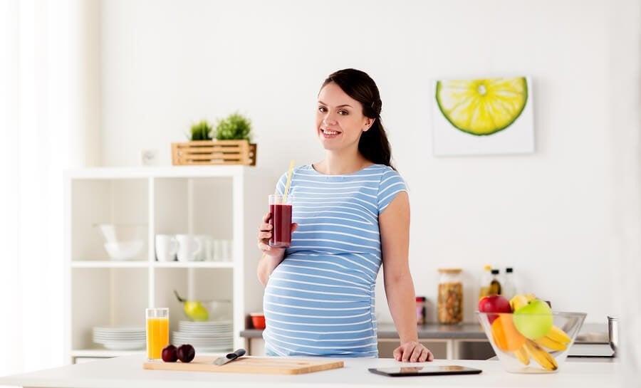 임신부를 위한 맛있는 주스 4가지