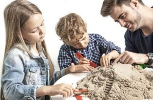 집에서 즐기는 마법 모래 놀이