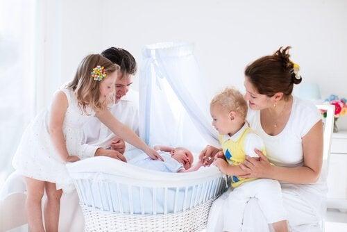 아기방 아기 침대