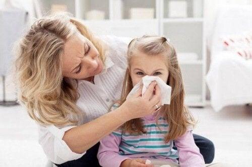 왜 아이가 코피를 흘리며, 그 원인은 무엇일까?