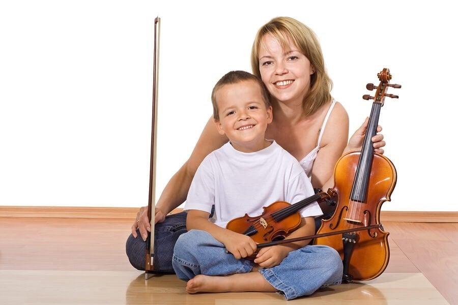 아이가 악기를 배우면 좋은 점