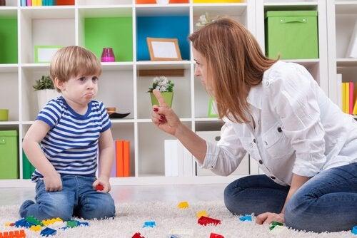 아이에게 '안 돼'라고 말하는 것의 중요성