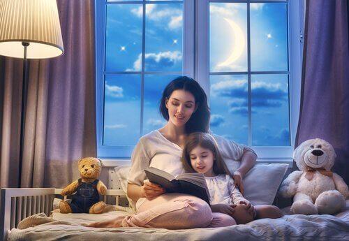 잠자리 이야기를 들려주는 일의 중요성