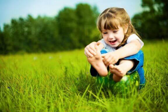 아이의 발을 건강하게 관리하는 방법