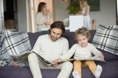 아이들에게 가장 좋은 본보기는 부모다