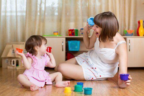 1∼3세까지의 아이들을 위한 조기 자극 운동