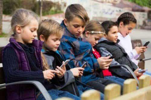 아이들의 기술 관련 질병에 관하여