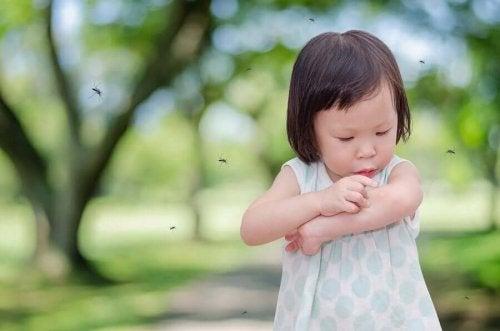 아이가 항상 모기에 물린다면?