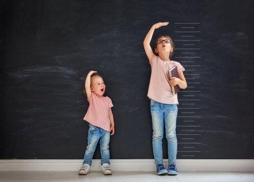 여자아이의 키 성장은 언제 멈출까?