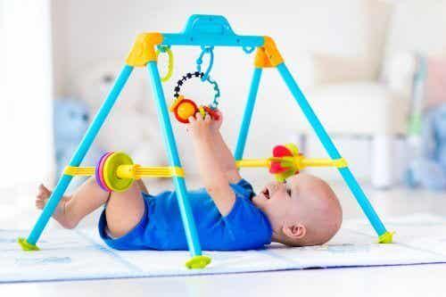 아기용 운동 공간 및 공원 활동