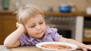 아이가 먹기를 거부하면?