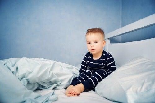 아이들에게 나타나는 가장 흔한 수면장애