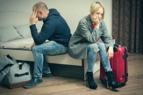 이혼의 영향