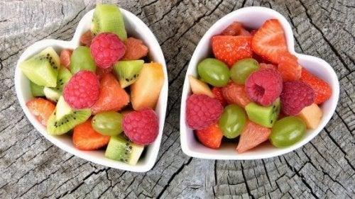 어린이에게 가장 권장되는 5가지 과일