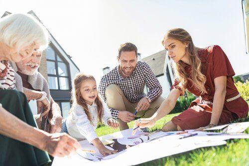 집에서 이루어지는 가족생활의 중요성