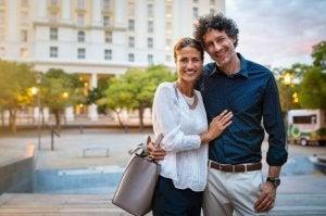 부부들이 결혼 생활에서 느끼는 친밀감