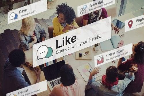 소셜 미디어와 관련한 위험