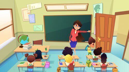 교실 내 처벌 및 관리