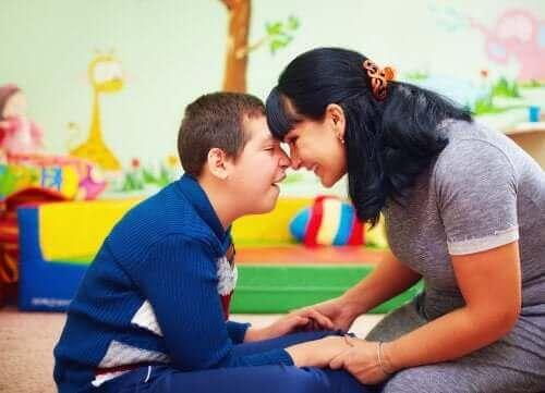 특별한 도움이 필요한 아이들과 그 가족