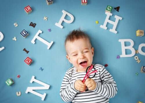 아기의 언어 발달