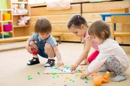아동기 능력 발달에 도움이 되는 놀이