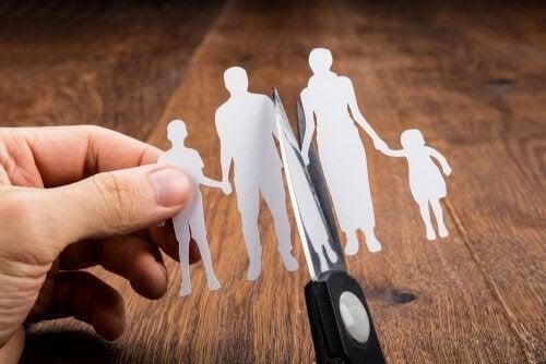부부 결별의 다양한 유형과 친권 문제